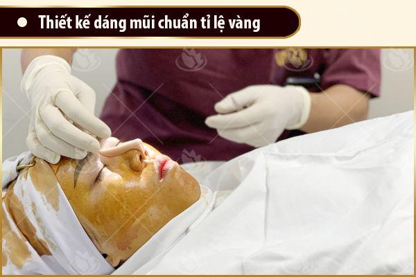 phác thảo nâng mũi ở đâu đẹp nhất Sài Gòn