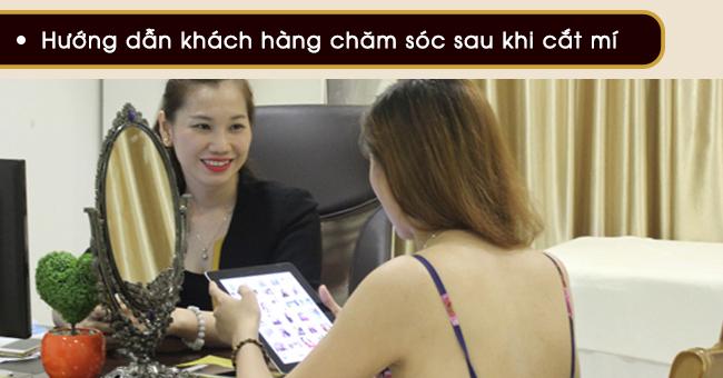 hướng dẫn chăm sóc để có mí mắt đẹp ở viện thẩm mỹ VIP