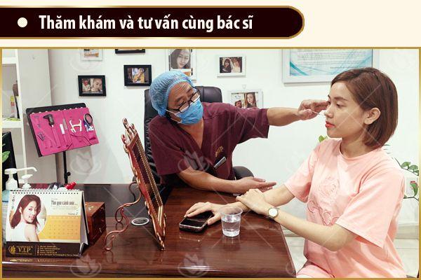 thăm khám bác sĩ lấy mỡ mắt tốt ở TPHCM
