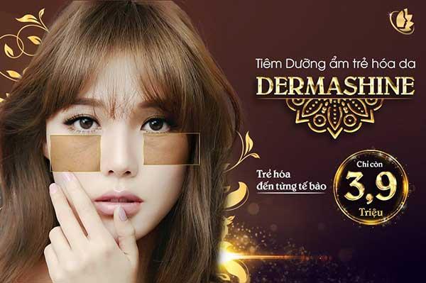 Derma shine là bí quyết làm đẹp da thời thượng