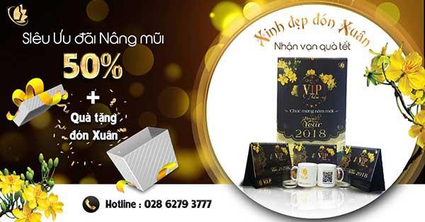 quà tặng ưu đãi tháng 1 tại VIP