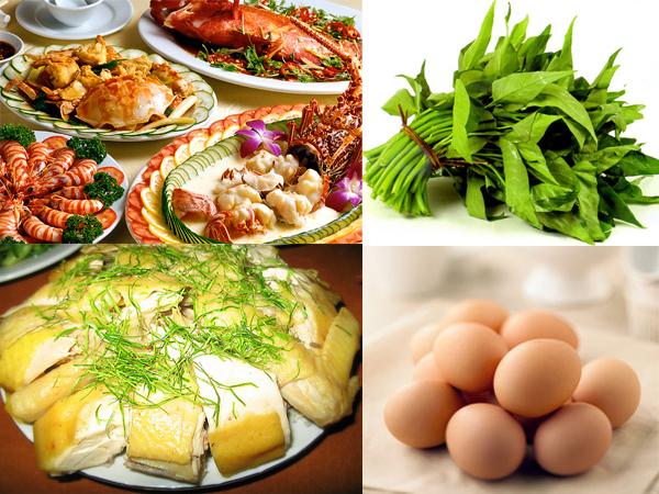 Nên kiêng ăn những thực phẩm ảnh hưởng đến vết thương